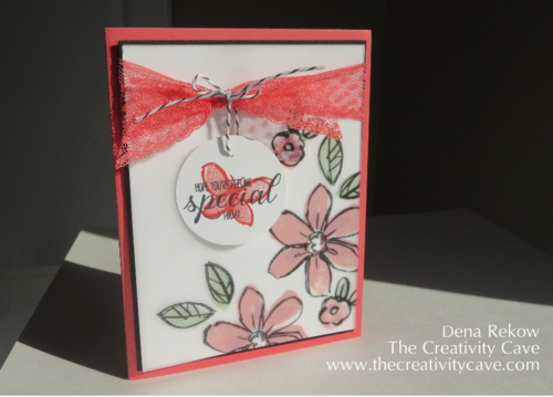 Garden In Bloom Stamp Set from Stampinup Created by Dena Rekow, The Creativity Cave