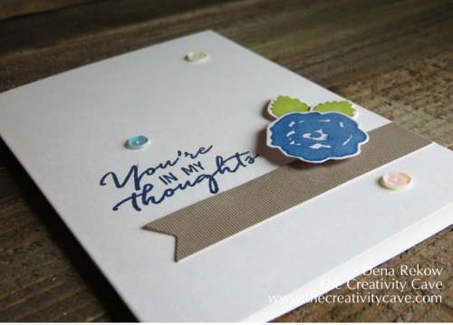 Alternative Project for Watercolor Wishes Card Kit 2
