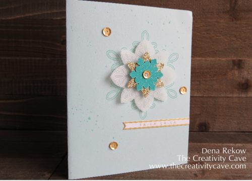 Flurry of Wishes From Stampin Up with Hello December Project lIfe Accessory Pack