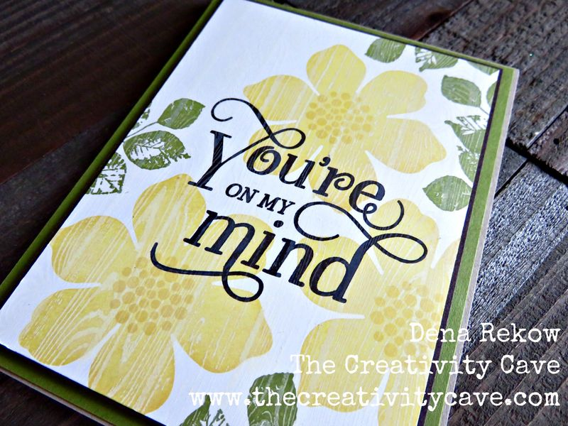 You're On My Mind Faux Resist