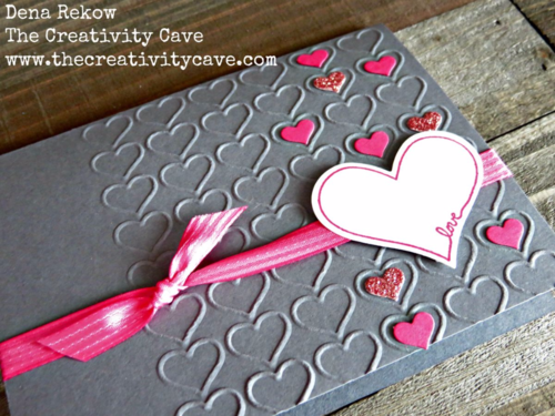 Stamp Ink Paper Challenge Project: Tic Tac Toe--check out my blog for the details!  Super fun challenge! I used the You're So Sweet stamp set and coordinating Treat Bag Thinlits from Stampin Up to complete my card!