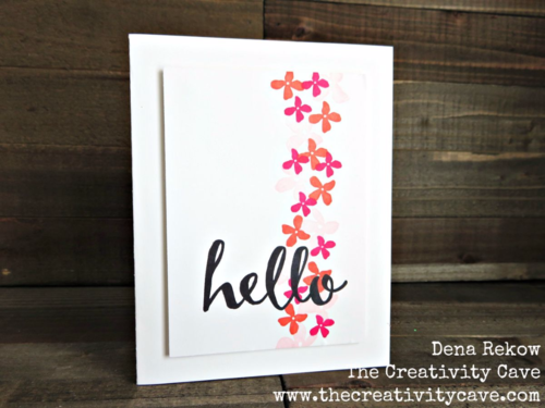 Fabulously simple projects using Stampin Up's Hello and Botanicals for You Sale-a-bration sets.  Check out the awesome (and always entertaining) video tutorial on how to create quick, easy, and simple cards on my blog!