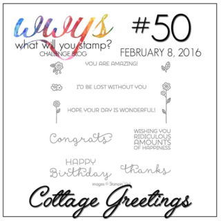 WWYS #50 Challenge: Cottage Greetings