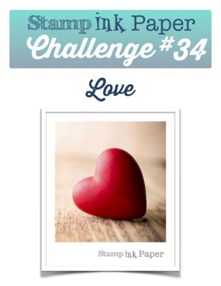 Join us for the Stamp Ink Paper Challenge: Love!