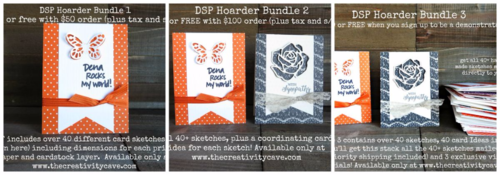 Visit my blog to order these awesome sketches and watch a video explaining how to bust your hoarded printed paper stash!