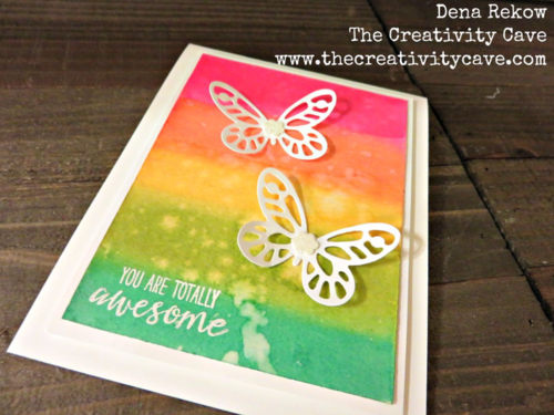 Spring has Sprung with these sweet projects using Stampin Up Bold Butterflies Thinlits and Note Card Punch!