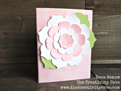 Check out all the awesome Vellum projects in my Friday Quickie Video tutorial featuring Stampin Up's Flower Frame Collection thinlits and Beautiful Bunch Stamp Set