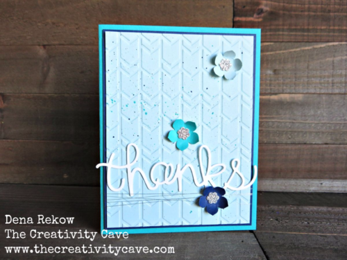 Fun color combo--check out the video tutorial on my blog using Stampin Up's Crazy About You Bundle