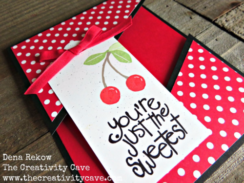 Check out the awesome video on my blog for how to create this awesome Split Card Using Stampin Up's Apple of My Eye Stamp Set