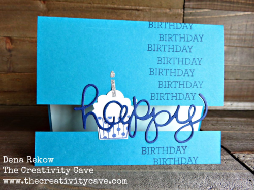 Check out the awesome video on my blog for how to create this awesome Split Card Using Stampin Up's Crazy About You Bundle and Cupcake Party Stamp Set