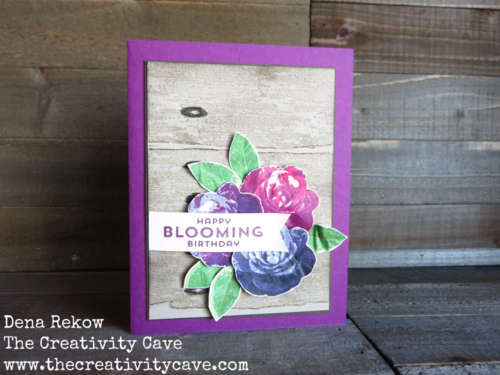 Check out the video tutorial on how to make this gorgeous Faux Weathered Wood using Stampin Up's Timeless Textures Stamp Set.