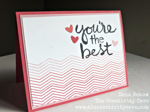 Check out the video tutorial on my blog for this simple Pop Up Card using Stampin UP's Watercolor Words and Stamp A Bag Sets.