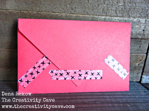 Great Video Tutorial on my blog for making cards with Washi Tape and Stampin Up's Envelope Punch Board!