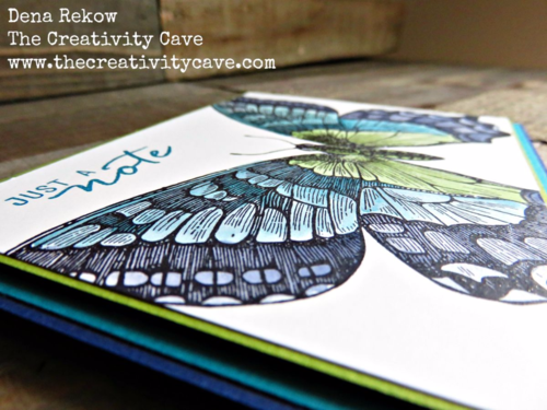Great Video tutorial for making this gorgeous card on my blog using Stampin Up's Swallowtail Stamp and watercoloring!