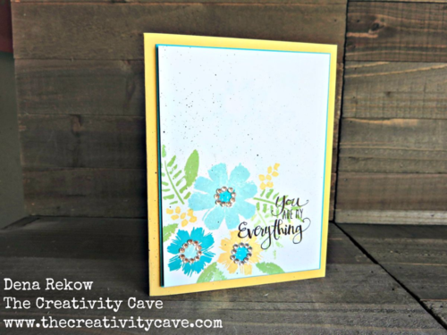 Stampin Up's April Paper Pumpkin Bonus Stamp Set makes some great happy cards!  More on my blog!