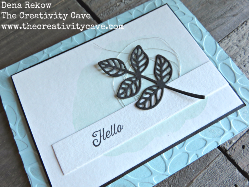 Video tutorial on this beautiful card using Stampin Up's Flourishing Phrases Stamp set and coordinating Framelits on my blog plus supplies and links to purchase. www.thecreativitycave.com #stampinup #thecreativitycave #handmade #flourishingphrases