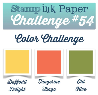 Join us for this cheerful color challenge this week at SIP and head to my blog at www.thecreativitycave.com to see my take on these fun colors, including a video tutorial! #stampinup #thecreativitycave #handmade #sipchallenge