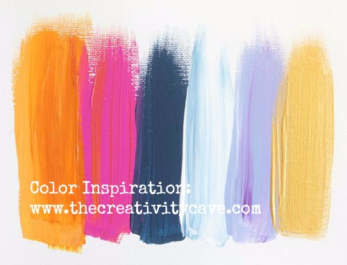 """Need Inspiration? Check out my video on how this pin helped me get out of my """"stamper's block"""" #stampinup #thecreativitycave #stampersblock #colorcombo #creativity #Videotutorial"""