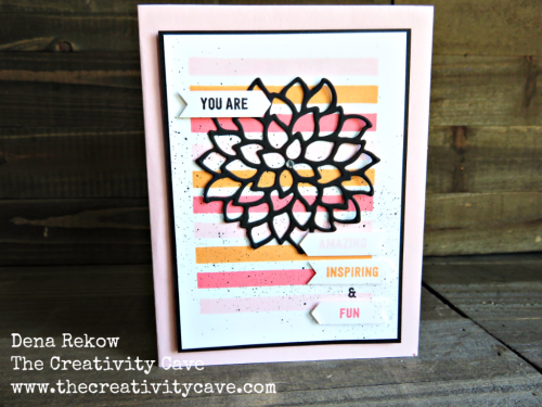 Video tutorial for creating this gorgeous scallop edge from the Classic Label Punch from Stampin Up along with the Thoughtful Banners Stamp Set on my blog: www.thecreativitycave.com #stampinup #thecreativitycave #handmade #classiclabelpunch