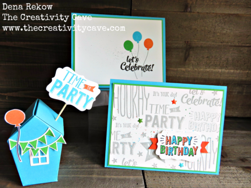 Check out the fun projects and video tutorial on my blog at www.thecreativitycave.com #stampinup #thecreativitycave #homesweethome #birthday