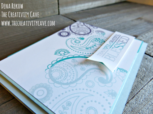 Check out the fun tutorial on this simple yet gorgeous card using Stampin Up's Paisleys and Posies stamp set, plus a preview of the upcoming Occasions Catalog on my blog: www.thecreativitycave.com #stampinup #thecreativitycave #paisleysandposies