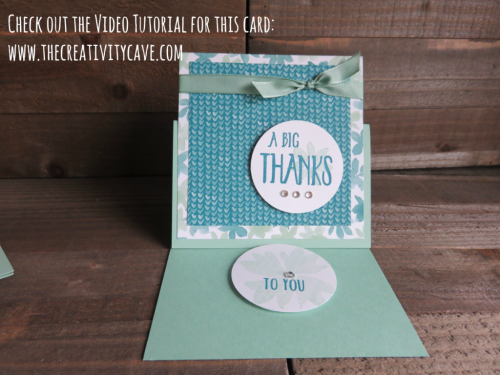 Great Video Tutorial for making 4 different cards using just one set of supplies in different ways!  Perfect for using up your DSP (Printed Paper) I used Stampin Up's Blooms and Bliss DSP with the Blooms and Wishes Stamp Set (My FAV!) check it out on my blog: www.thecreativitycave.com #stampinup #bloomsandwishes #fridayquickies