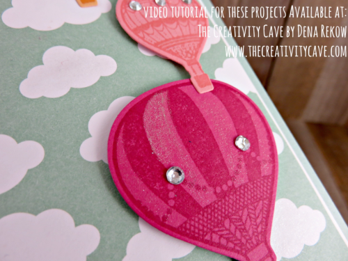 Check out the video showcasing these fun projects using Stampin Up's Carried Away Designer Series Paper that is FREE when you spend $50 in my online store at www.thecreativitycave.com #stampinup #thecreativitycave #carriedaway #carriedawayDSP #Liftmeup
