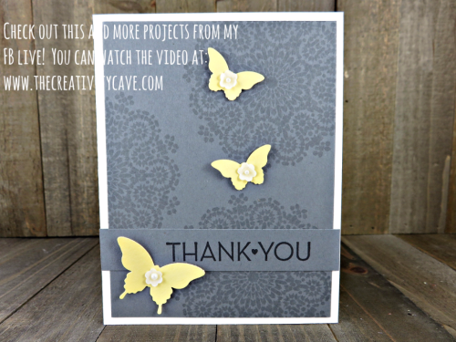 Check out my FB Live video where I create this beautiful card using Stampin Up's Moroccan Nights stamp set plus 3 more projects on my blog at www.thecreativitycave.com #stampinup #thecreativitycave #fblive #moroccannights