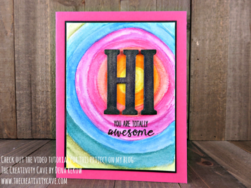 Check out some amazing Watercolor Pencil Techniques including a fantastic video tutorial on my blog: www.thecreativitycave.com using Stampin Up's Beautiful You stamp set and more!  #stampinup #thecreativitycave #fridayquickies #videotutorial