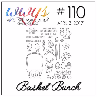 Check out my card using Stampin Up's Basket Bunch Stamp set on my blog including video tutorial: www.thecreativitycave.com #stampinup #basketbunch #wwyschallengeblog