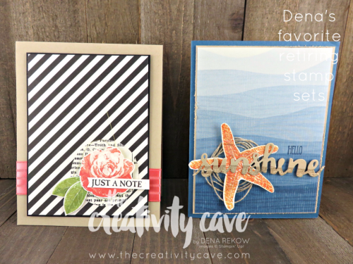 Picture Perfect is a great 3 step stampin Program! #stampinup #thecreativitycave #pictureperfect