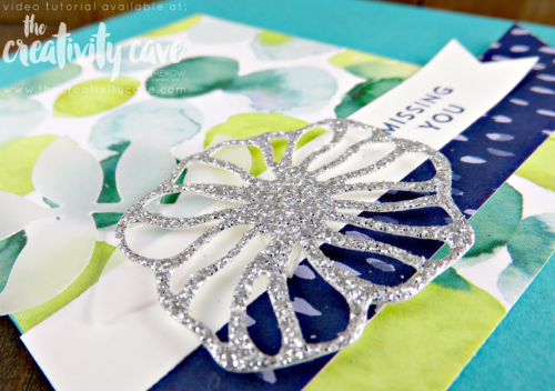 Check out the Facebook Live Video for this card plus several others using new products from the 2017-18 Stampin Up Annual Catalog #stampinup #thecreativitycave #fblive #ohsoeclecticstampset