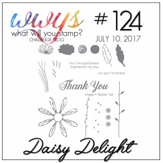 Join me for my Daisy Delight Project on my blog, complete with video tutorial www.thecreativitycave.com #stampinup #daisydelight