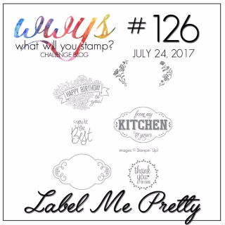 Check out my take including a video tutorial for Stampin Up's Label Me Pretty Stamp Set on my blog www.thecreativitycave.com #stampinup #thecreaqtivitycave #labelmepretty