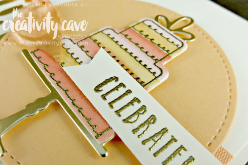 Join me for a great video tutorial showing you just how easy this GORGEOUS card using Stampin Up's Celebration Time Bundle is along with some great tips and tricks on my blog at www.thecreativitycave.com #stampinup #thecreativitycave #watercolor #celebrationtimebundle #wedding #handmadegreetingcard #rubberstamping #paper