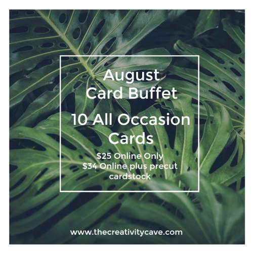 Aug Card Buffet