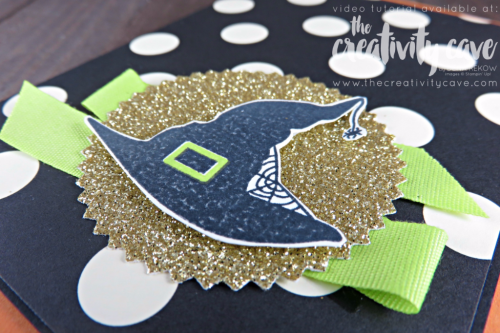 Check out my fun video and card using Stampin Up's Spooky Cat and Coordinating Spooky Night Printed Paper on my blog at www.thecreativitycave.com #stampinup #thecreativitycave #videotutorial #halloween #spookycat #spookynightdsp #handmadegreetingcards