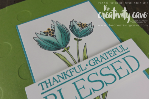 Check out my video tutorial where I show you how to Create this gorgeous card using Stampin Up's Count My Blessings and Paisleys and Posies Stamp Sets along with Stampin Up's Stampin Blends Alcohol Based Markers on my blog www.thecreativitycave.com #stampinup #thecreativitycave #stampinblends #countmyblends #paisleysandposies #alcoholmarkers #BigShot #handmadegreetingcards #handstamped #rubberstamping #thankfulgratefulblessed
