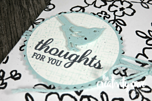 Fantastic video tutorial on my blog for this plus a second card featuring the Petal Palette Suite of products from Stampin UP's Occasion catalog on my blog at www.thecreativitycave.com #stampinup #thecreativitycave #rubberstamping #paper #crafting #petalpalette #bigshot #videotutorial #handmade