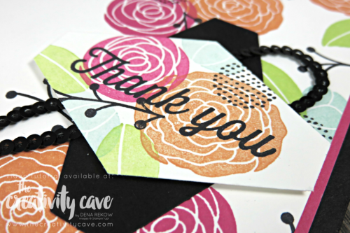 Check out my happy card complete with video tutorial using Stampin Up's Cake Soiree Stamp set on my blog at www.thecreativitycave.com #stampinup #happy #cakesoiree #thecreativitycave #eclecticespressions #thankyou #tailoredtagpunch