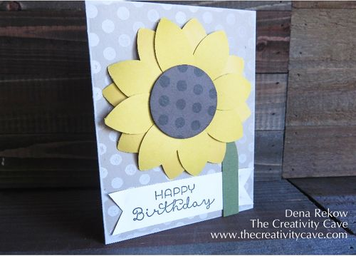 Festive Flower Builder Punch Sunflower-001