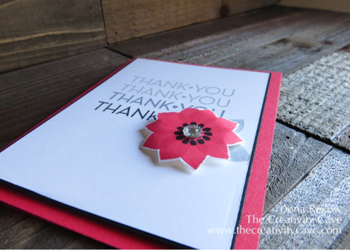 Stampin Up's Flower Patch and One Big Meaning
