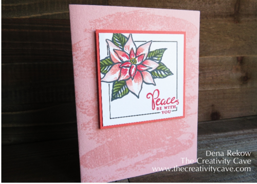 Create amazing Shading with Stampin Up's Sponge Daubers and Reason for the Season Stamp Set