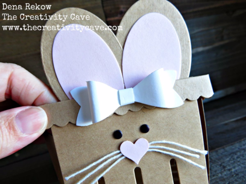 Check out the video on how to make these adorable Bunny Treat Basket and Card.  Best part is you can squeeze the bunny tail!! ;)