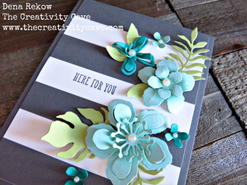 3 Gorgeous cards using Stampin Up's Botanical Gardens Bundle!  Video on how to create them on my blog!