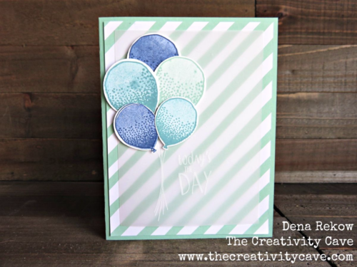 Check out all the awesome Vellum projects in my Friday Quickie Video tutorial featuring Stampin Up's Balloon Celebration Stamp Set