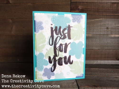 Check out this fun (and hilarious) video tutorial using Stampin Ups Botanical Blooms, Botanicals for You stamp sets with Botanical Garden Vellum!