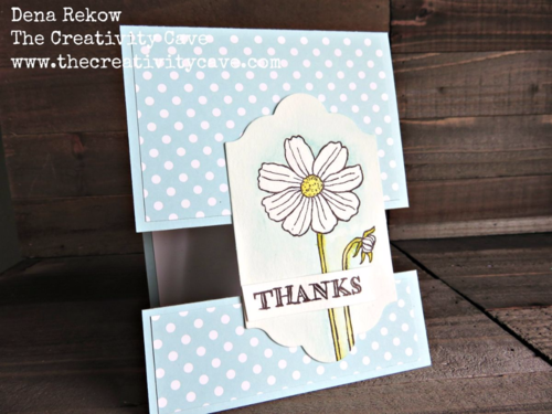 Check out the awesome video on my blog for how to create this awesome Split Card Using Stampin Up's Helping Me Grow Stamp Set