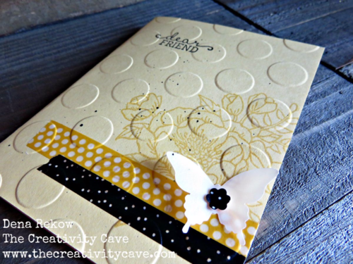 Great Video Tutorial on my blog for making cards with Washi Tape and Stampin Up's Birthday Blooms Stamp Set!