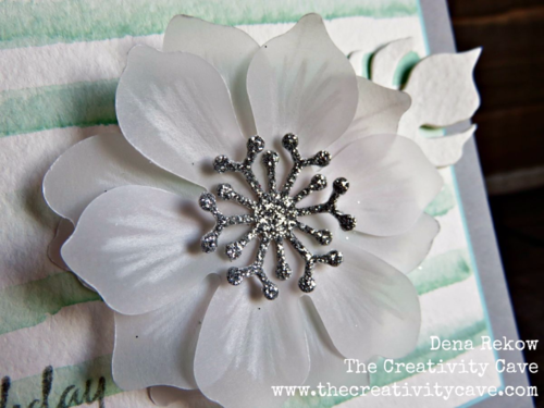 Check out the video tutorial for making this simple, gorgeous floral vellum card using the Fun Flower punch from Stampin Up!